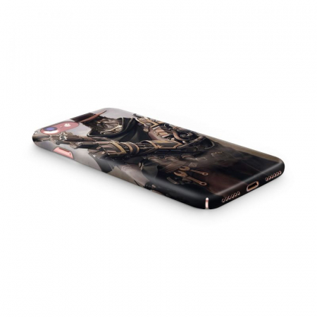 Husa iPhone 6 Custom Hard Case Steampunk Fighter3
