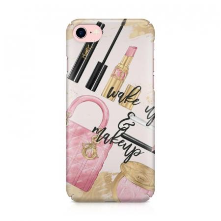 Husa iPhone 6 Custom Hard Case Wake Up And Makeup1