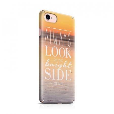Husa iPhone 7 Custom Hard Case Blue Bright Side0
