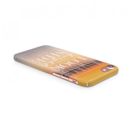 Husa iPhone 7 Custom Hard Case Blue Bright Side3