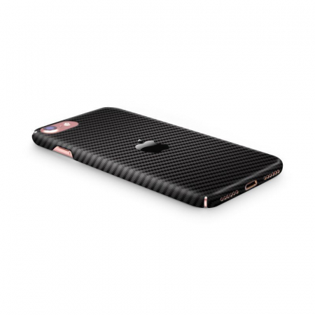 Husa iPhone 7 Custom Hard Case Carbon1
