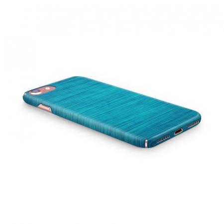 Husa iPhone 7 Custom Hard Case Blue Lines1