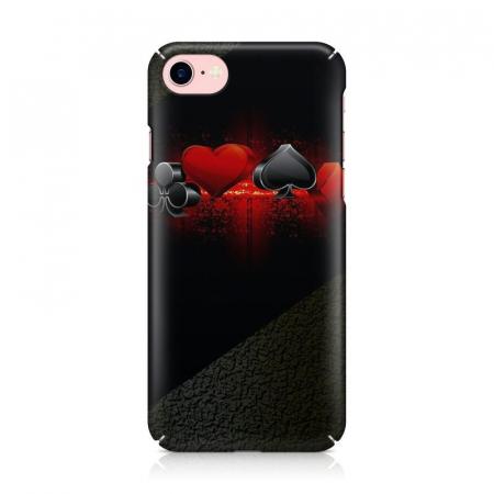 Husa iPhone 7 Custom Hard Case Cards2