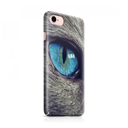 Husa iPhone 7 Custom Hard Case Cat Eye0