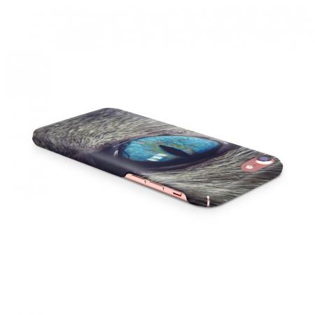 Husa iPhone 7 Custom Hard Case Cat Eye3