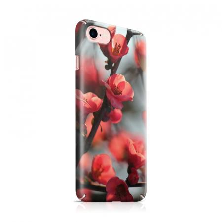 Husa iPhone 7 Custom Hard Case Cherry Flowers0