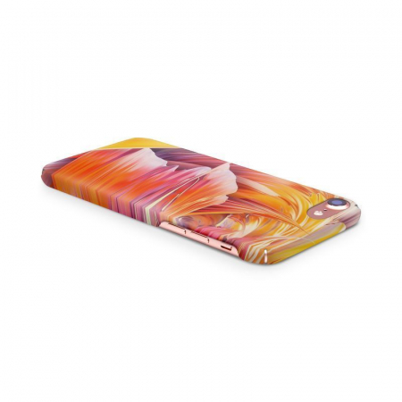 Husa iPhone 7 Custom Hard Case Color Waves3