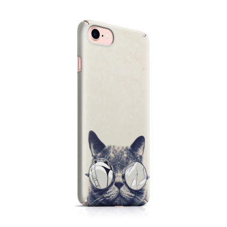 Husa iPhone 7 Custom Hard Case Cool Cat0