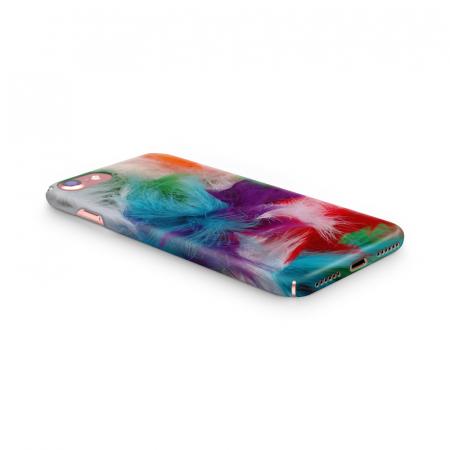 Husa iPhone 7 Custom Hard Case Feathers2