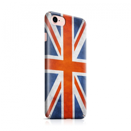 Husa iPhone 7 Custom Hard Case Flag UK0