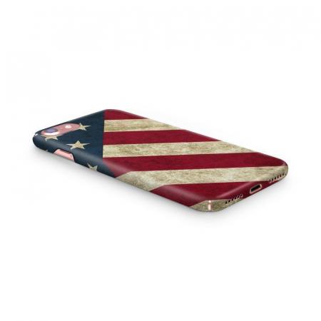 Husa iPhone 7 Custom Hard Case Flag US1