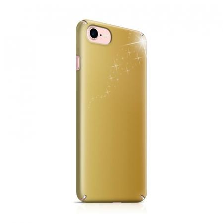 Husa iPhone 7 Custom Hard Case Golden Stars0