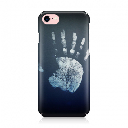 Husa iPhone 7 Custom Hard Case Hand Print1