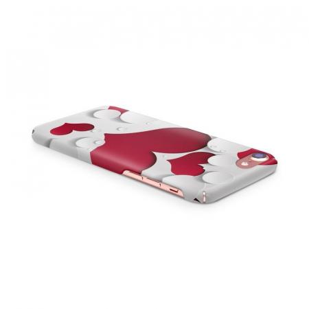 Husa iPhone 7 Custom Hard Case Heart Shape3