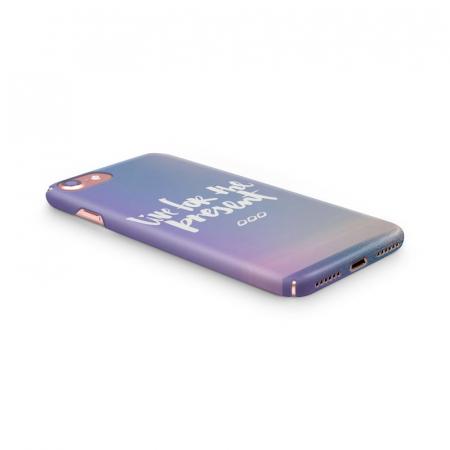 Husa iPhone 7 Custom Hard Case Live For The Present1