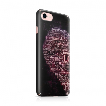 Husa iPhone 7 Custom Hard Case Only Words0