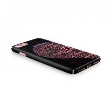 Husa iPhone 7 Custom Hard Case Only Words2