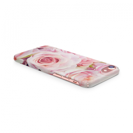 Husa iPhone 7 Custom Hard Case Pink Roses3
