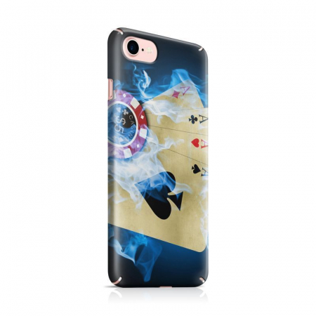 Husa iPhone 7 Custom Hard Case Poker Aces0