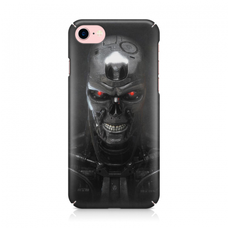 Husa iPhone 7 Custom Hard Case Roboskull1