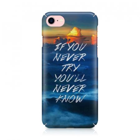 Husa iPhone 7 Custom Hard Case Try1