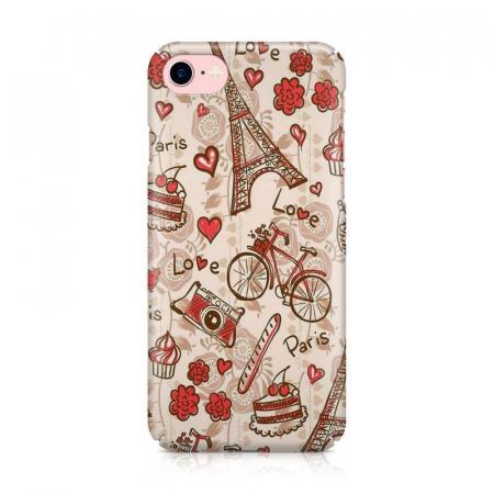 Husa iPhone 7 Custom Hard Love Paris1