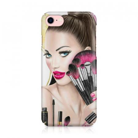 Husa iPhone 7 Custom Hard Makeup2