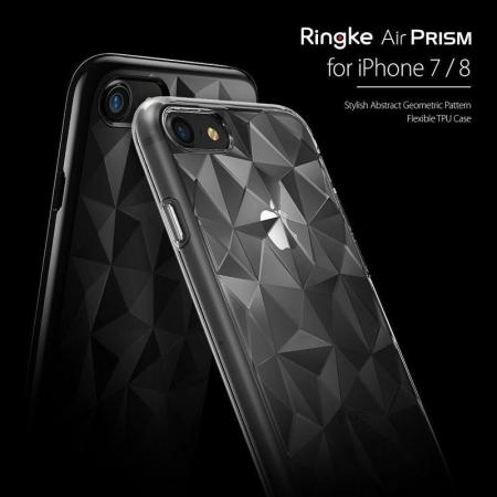 Husa iPhone 7 / iPhone 8  Prism Soft TPU - negru1
