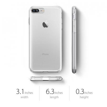 Husa iPhone 7 Plus / iPhone 8 Plus Soft TPU 0.8 mm - transparent1