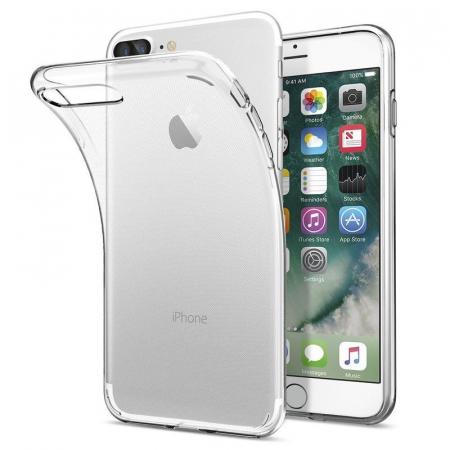 Husa iPhone 7 Plus / iPhone 8 Plus Soft TPU 0.8 mm - transparent4