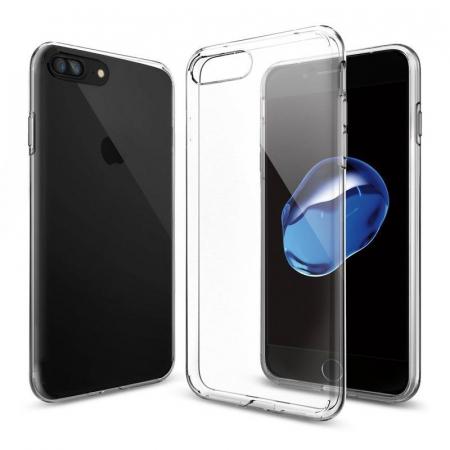 Husa iPhone 7 Plus / iPhone 8 Plus Soft TPU 0.8 mm - transparent6