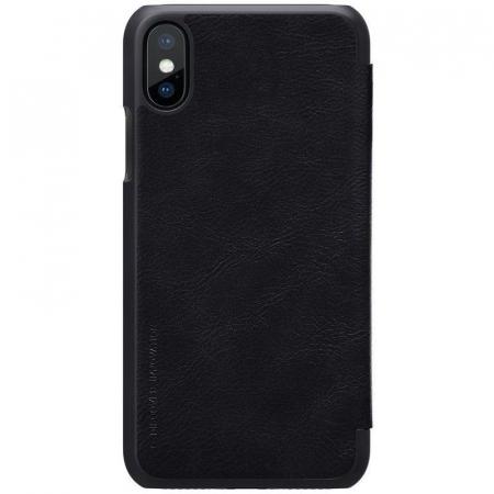 Husa iPhone X Nillkin Qin - negru3