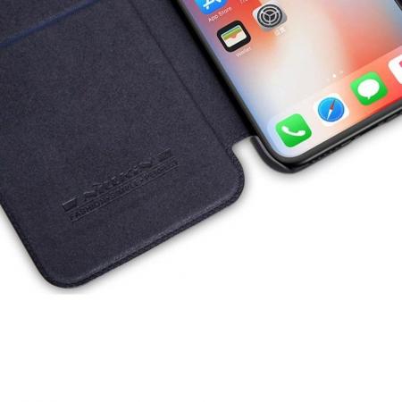 Husa iPhone X Nillkin Qin - negru2