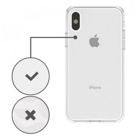 Husa iPhone X Silicon TPU 360 grade - transparent5