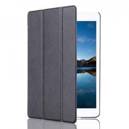 Husa iPad Mini 4 Leather Smart Case Tri-fold Stand - negru [1]