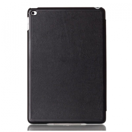 Husa iPad Mini 4 Leather Smart Case Tri-fold Stand - negru0