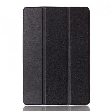 Husa iPad Mini 4 Leather Smart Case Tri-fold Stand - negru [2]