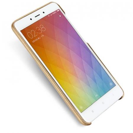 Husa Lenuo Xiaomi Redmi Note 4 - gold2