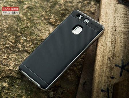 Husa Neo Hybrid Huawei P9 - argintiu4