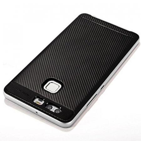 Husa Neo Hybrid Huawei P9 - argintiu5
