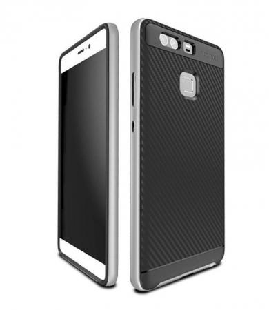 Husa Neo Hybrid Huawei P9 - argintiu2