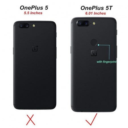 Husa OnePlus 5T Nillkin Frosted - gold8