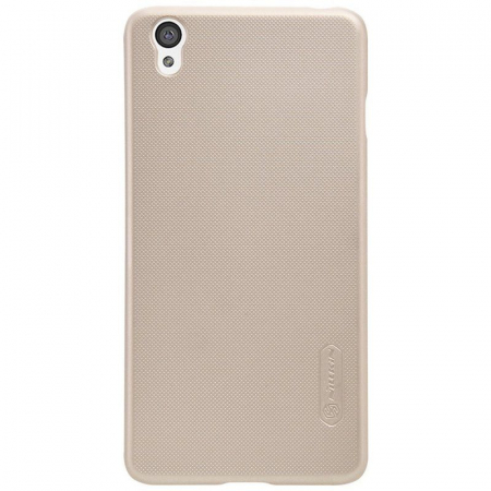 Husa OnePlus X Nillkin Frosted - gold0
