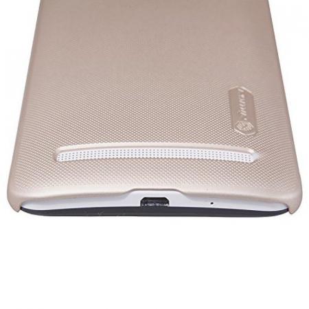 Husa Asus Zenfone 2 5.5inch Nillkin Frosted Shield - gold2
