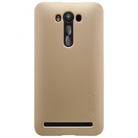 Husa Asus Zenfone 2 Laser 5.5inch Nillkin Frosted Shield - gold0