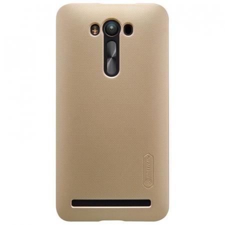 Husa Asus Zenfone 2 Laser 5.5inch Nillkin Frosted Shield - gold [0]