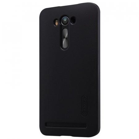 Husa Asus Zenfone 2 Laser 5.5inch Nillkin Frosted Shield - negru4