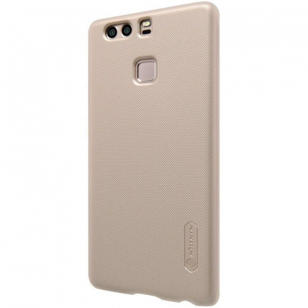 Husa Nillkin Frosted Shield Huawei P9 - gold1