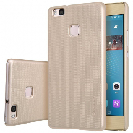 Husa Huawei P9 Lite Nillkin Frosted Shield - gold2