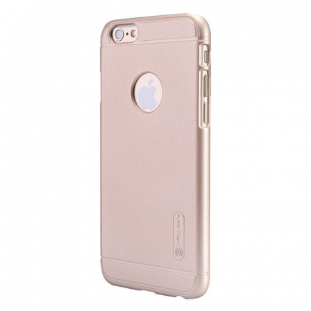 Husa iPhone 6 / iPhone 6s Nillkin Frosted Shield - gold2
